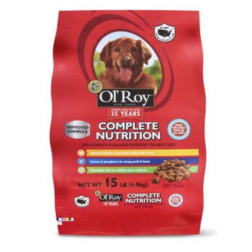 Ol Roy Complete Nutrition Adult Dry Dog Food, 15 lbs