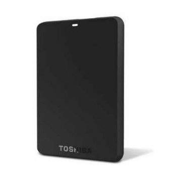 Hitachi Refurbished Toshiba Canvio Basics 3.0 1TB Portable Hard Drive (Black)(HDTB210XK3BA)