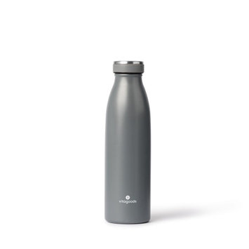 Vitagoods Spout Vacuum Sealed Water Bottle 500ml Charcoal