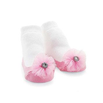 Mud Pie Jeweled Flower Socks []