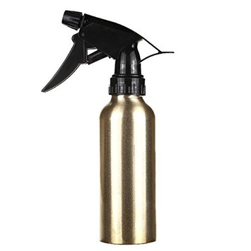 Water Spray Bottle - 1 Piece 200ml Aluminum Hair Salon Haircut Hairdressing Water Spray Empty Bottle Sprayer Refillable Bottle Barber Styling Cutting Tool