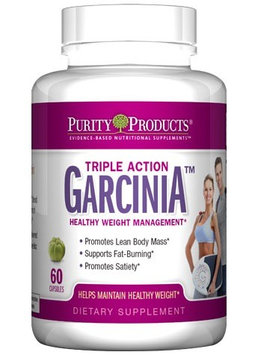 Triple Action Garcinia Purity Products 60 Caps