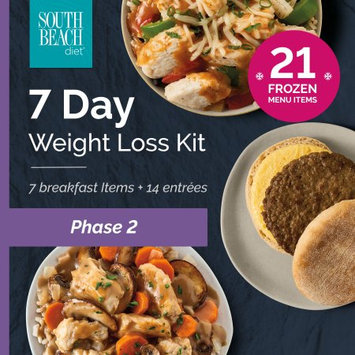 South Beach Diet Phase 2 Frozen Weight Loss Kit