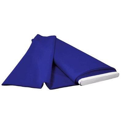 LA Linen PopBolt-5Yrd-RoyalP50 5 Yards Polyester Poplin Flat Fold Royal