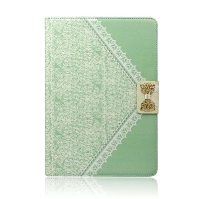 Amonfineshop New Released Fashion Fresh Cute Flip Wallet Leather Case Cover for iPad 2 3 4