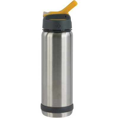Outdoor Products 0.75-Liter Stainless Steel Rocket Bottle, Clear
