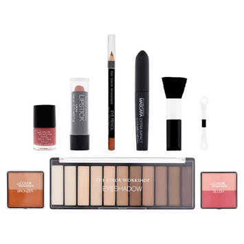 The Color Workshop Get The Look: Nude Eyes Makeup Collection, 21 piece