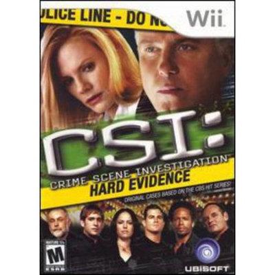 Nintendo CSI: Crime Scene Investigation - Hard Evidence (used)