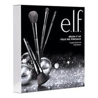 J.a. Cosmetics e.l.f. 4 Piece Face and Eye Brush It Up Starter Set
