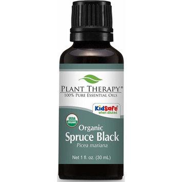Plant Therapy Spruce Black Organic 30 mL (1 oz) Essential Oil 100% Pure, Undiluted, Therapeutic Grade