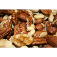 Bayside Candy Raw Mixed Nuts (Pack of 12/16oz Bags)