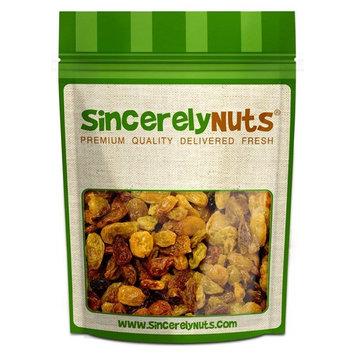 Sincerely Nuts Jumbo Golden Raisins, 2 LB Bag