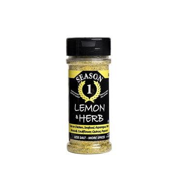 Lemon & Herb Seasoning - Lower Sodium, Gluten Free, No Added Sugar, No MSG, Paleo, Vegan