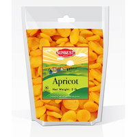 SUNBEST Jumbo Dried Apricots #1 (Turkish) 5 Lbs in Resealable Bag