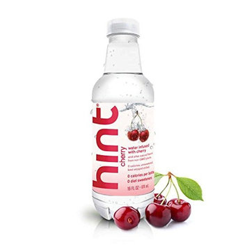 Hint Water, Cherry, 16 Ounce Bottle (Pack of 48)