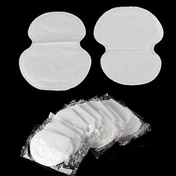 10Pcs One-Time Sweat Absorbent Antiperspirant Pad Absorbing Underarm 95X120Mm