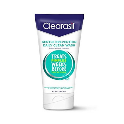 Clearasil Daily Clear Hydra-Blast Face Wash, 6.5 oz., Oil-Free (Pack of 5)