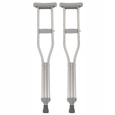 PCP Push-Button Crutches, Chrome, Youth Size