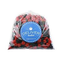 Deliver Kosher Bulk Candy - Danish Chocolate Covered Mocha Beans - 5lb Bag [Chocolate Covered Mocha Beans]