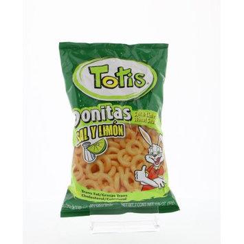 Totis Lemon-Salt Snacks - Donitas Sal Y Limon 1.76 Oz (Pack of 12)