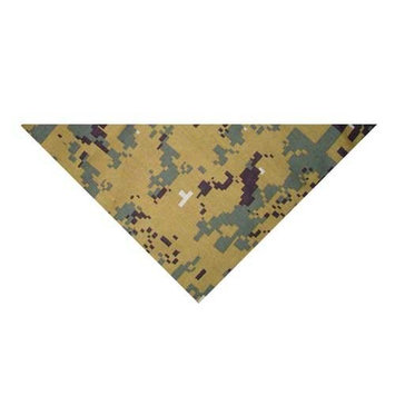 Zanheadgear 3-IN-1 Bandanna with Velcro Closure, 100% Cotton, ACU Green Camouflage [Green Digital Camouflage]
