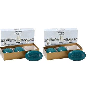 Caswell-Massey Newport Bath Soap 5.8 Oz (Set of 2)