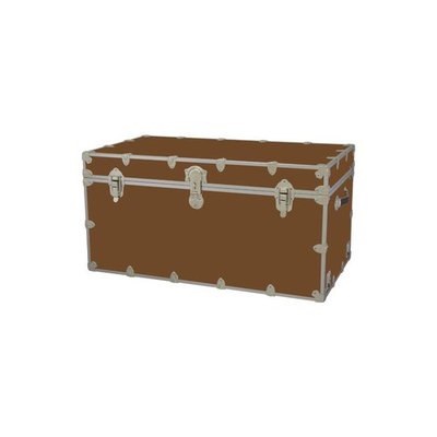 Toy Trunk - Brown (Large: 32 W x 18 D x 14 H (29 lbs.))