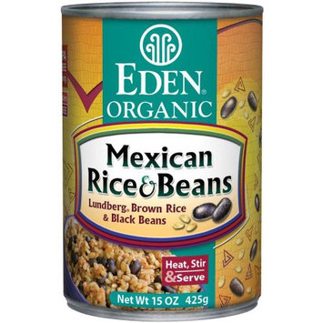 Eden Organic Eden Mexican Rice & Black Beans, Organic, 15 Ounce (Pack of 6)