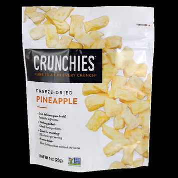 Crunchies Food Company Freeze-Dried Pineapple 1 oz (28 g) Pkg