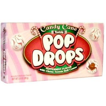 Candy Cane Tootsie Pop Drops Theater Box 3.5oz.