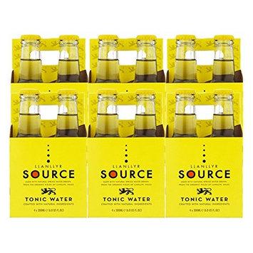 Llanllyr Source Tonic Water Mixer (Case of 6 - 4 Packs, 24 Bottles Total)