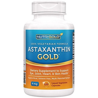 NutriGold Astaxanthin 4mg 120 softgels