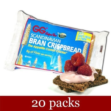 GG Bran Crispbread, 3.5-ounce (Pack of 20)
