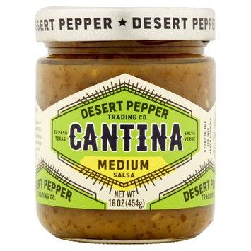 Desert Pepper Trading Company Desert Pepper, Salsa Cantina Med Green, 16 Oz (Pack Of 6)