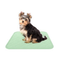 Trademark Global Games Puppy Pads Pet Training Mat- 2 Pack Quick Absorb, Waterproof, Machine Washable, Reusable- Dog Housebreaking, Training Supplies, 17â x 20â by PETMAKER