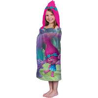 Dreamworks Trolls Hooded Towel Wrap, 1.0 CT