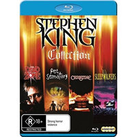 Alliance Entertainment Llc Stephen King Blu Ray Collection (blu-ray Disc) (4 Disc)