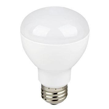 Euri Lighting Lightbulbs 45W Equivalent White R20 Dimmable LED Directional Flood Light Bulb ER20-1050e