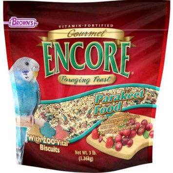 Brown's Encore Gourmet Foraging Feast Parakeet Food, 3 lbs.