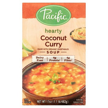 Pacific Foods Of Oregon, Inc. Pacific Foods, Soup Hrty Coconut Curry, 17 Oz (Pack Of 12)