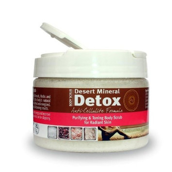 Desert Mineral Detox Body Scrub - Anti-Cellulite Formula by Extended Vacation