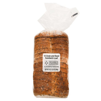 Freshness Guaranteed 12 Grain and Seed Sandwich Loaf, 24 oz