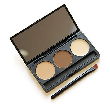 TOPBeauty 3 colors Eyebrow Eyeshadow With Makeup Pencil Face Repair Capacity and Cream Foundation