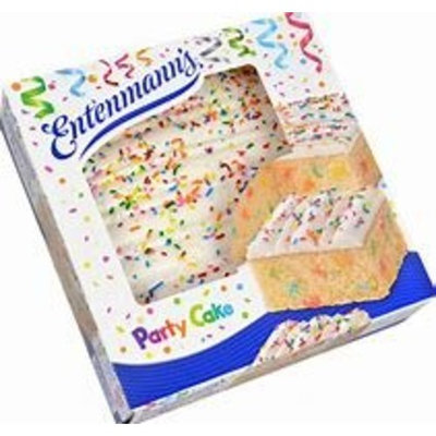 Entenmann's Iced Cakes BONUS 1 Entenmann's Crumb Cake Individually Wrapped (Party Cake)