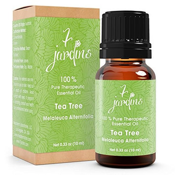 7 Jardins 100% Pure Essential Oil Tea Tree Anti Viral Dandruff & Acne 10 ml