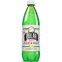 Polar Diet Soda, Half & Half, 33.8 Fl Oz