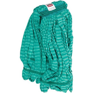 Rubbermaid Commercial Web Foot Microfiber Tube Mop, Large, Green, FGT81306GR00 []