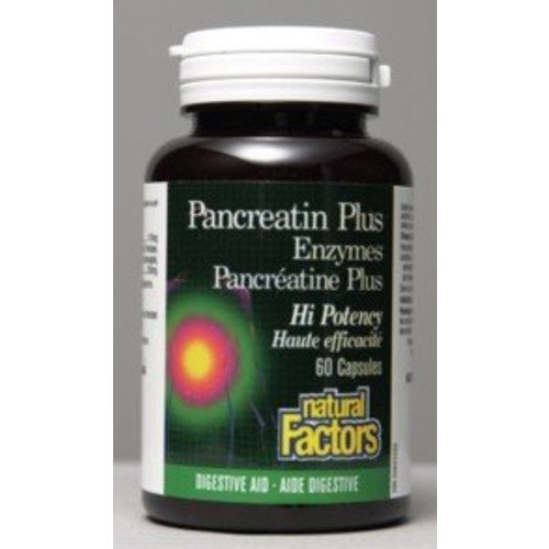 Pancreatin Enzymes (60Capsules) Brand: Natural Factors