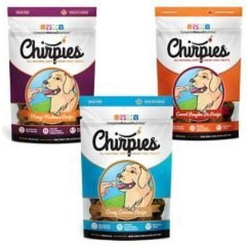 Complete Natural Nutrition CHRPCC-3063 Chirpies Grain-Free Cricket Dog Treat - Coconut, 150 Gram