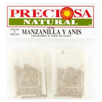 Proveedora De Alimentos Del Pacifico Y Cia Preciosa Natural Chamomile & Anise Tea Bags, 8 pieces